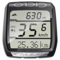 Ciclosport - Cm 4.41 A - Compteur sans fil - avec altimètre et cardiofréquencemètre noir